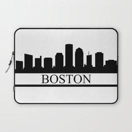 Boston skyline Laptop Sleeve