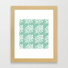 Splat collection Framed Art Print