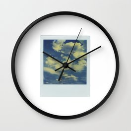 Instant Series: Clouds Wall Clock
