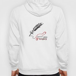 Feather Pens & Forgery Hoody