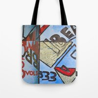 bauhaus Tote Bags featuring Bauhaus.  by Ryan Williams Photography and Art. http: