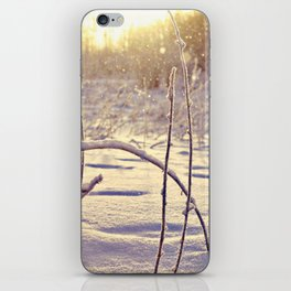 Alaskan Snowfall iPhone Skin