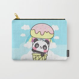 Sweet Panda Balloon Carry-All Pouch