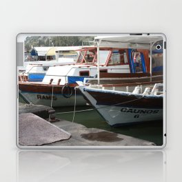 Caunos Riverboats at Dalyan Laptop & iPad Skin