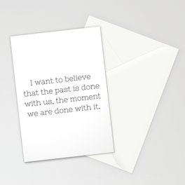 The past is done with us - Sense8 - TV Show Collection Stationery Cards