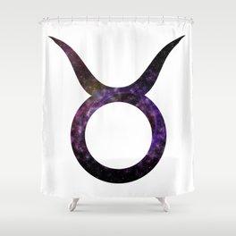 Galactic Taurus Shower Curtain