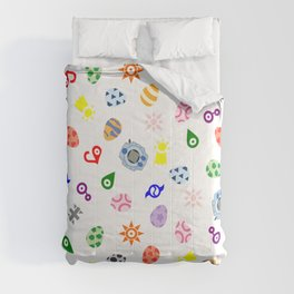 digimon digidestined pattern Comforters