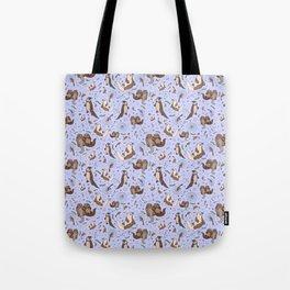 Sea Otters Tote Bag