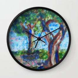 Landscape 3 Wall Clock