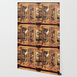 Cabinet of Curiosities Wallpaper