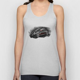 Fiat 500 ABARTH Unisex Tank Top