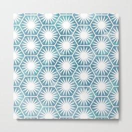 Watercolor daisy Metal Print