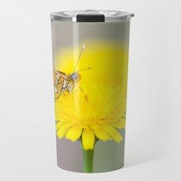 "Borboleta diurna ""Euphydryas aurinia"" Travel Mug"