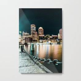 Boston Fan Pier Metal Print