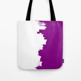 Purple imbalance Tote Bag