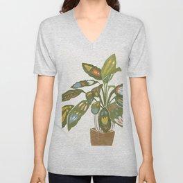 Scandinavian Plant Unisex V-Neck