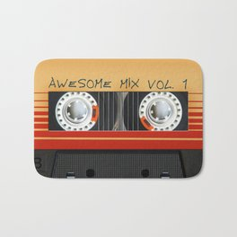 Awesome Mix Cassette Vol.1 Bath Mat