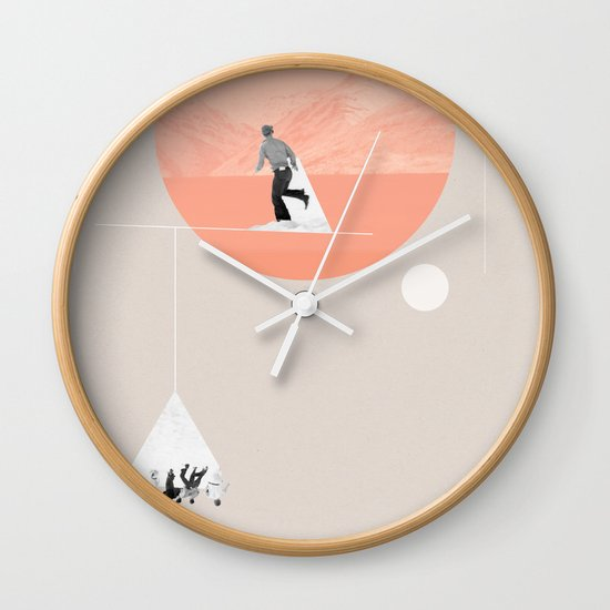 FROM EARTH Wall Clock