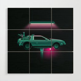 Back to the Future Wood Wall Art