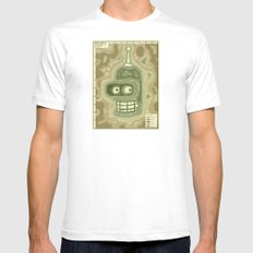 Popography: Bender Basin SMALL Mens Fitted Tee White