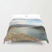 australia Duvet Covers featuring Highlands - Australia by Chris' Landscape Images & Designs