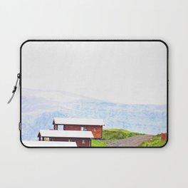 Iceland Bungalows Laptop Sleeve