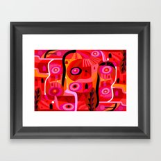 Zacatecas (Wide) Framed Art Print
