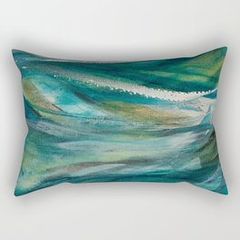 Obedient Wind and Waves Rectangular Pillow