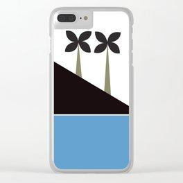 Arabian art print Clear iPhone Case