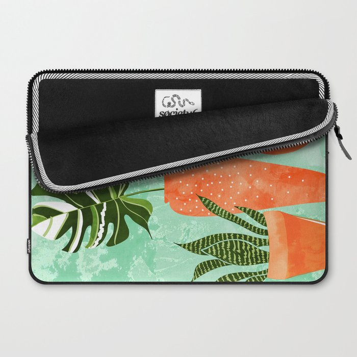 Water My Plants #painting #illustration Laptop Sleeve