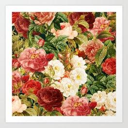 elegant garden Art Print