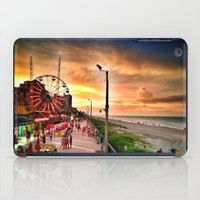 boardwalk empire iPad Cases featuring Boardwalk  by Justin Alan Casey