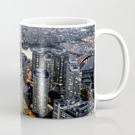 Tokyo Cityscape Skyline Photograph Coffee Mug