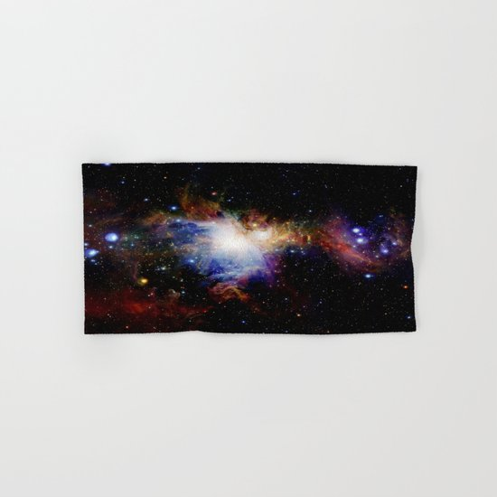 Orion NebulA Colorful Full Image Hand & Bath Towel