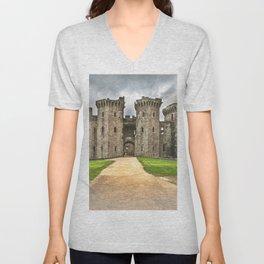 Gateway To The Castle Unisex V-Neck