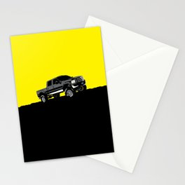 pickup truck Stationery Cards