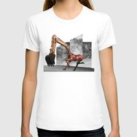 mustang T-shirts featuring Mustang by Lerson