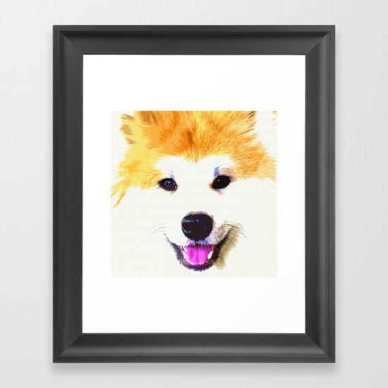AKITA Framed Art Print