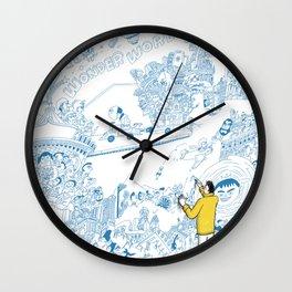 Just draw Wall Clock