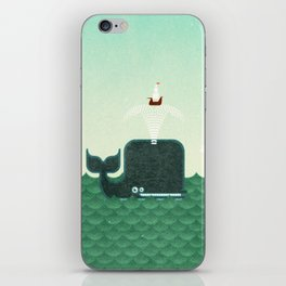 Whale, whale, whale... iPhone Skin
