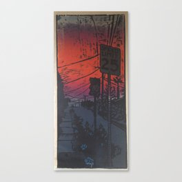 Suburban Sublime Canvas Print