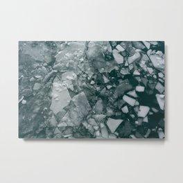 Frozen Puzzle Metal Print