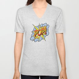 POP Art Exclamation Unisex V-Neck
