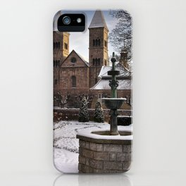 Viborg Catherdal in Winter iPhone Case