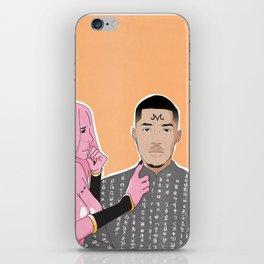 Pink Matter iPhone Skin