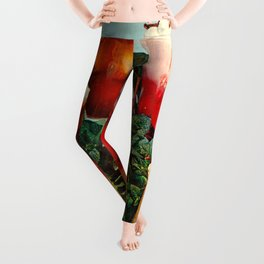 I need a drink (Cocktail time!) Leggings