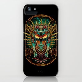 S'Owl Keeper iPhone Case
