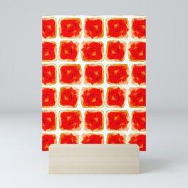 Watermelon cubism Mini Art Print