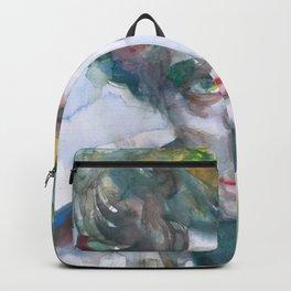 EDGARD VARESE watercolor portrait.1 Backpack