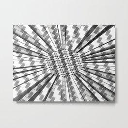 Witness the Weave Metal Print